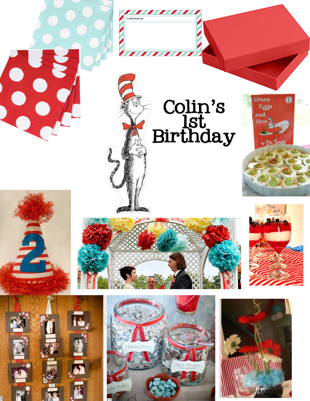 Dr Seuss First Birthday Party Decor Details Nashville Wedding