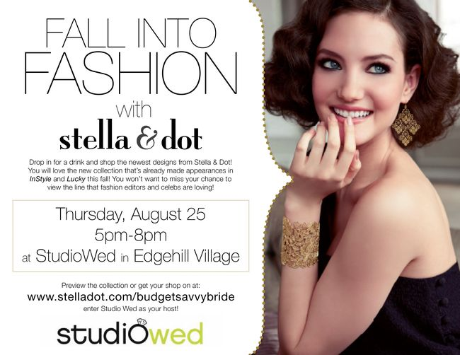 Nashville Stella Dot Trunk Show this Thursday Nashville Wedding